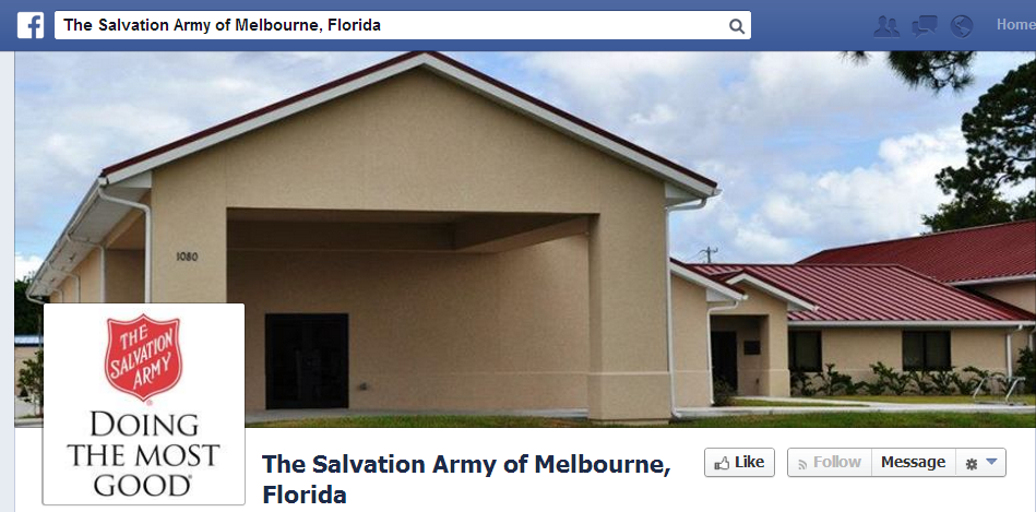 Salvation Army Facebook